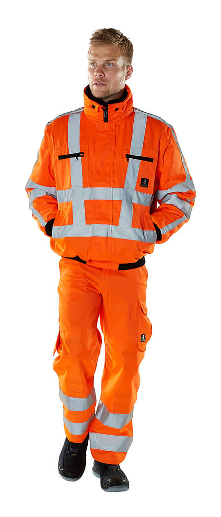 Vêtement de protection - MASCOT® SAFE ARCTIC - Hi-vis orange - Modèle