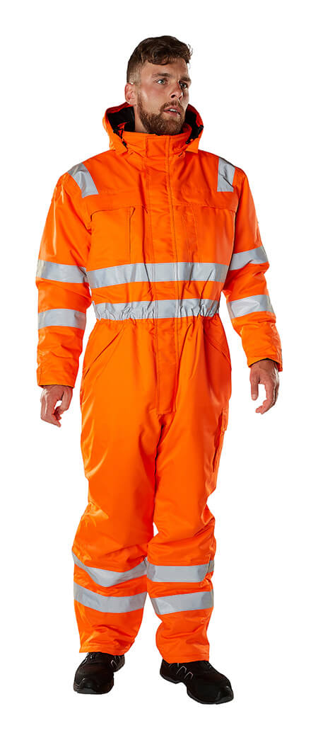 Modèle - Combinaison grand froid Hi-vis orange - MASCOT® SAFE ARCTIC
