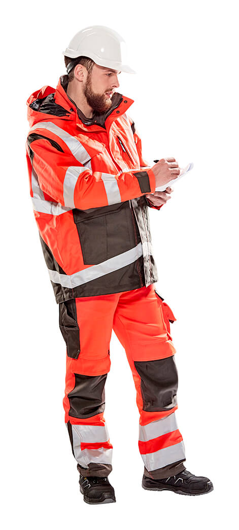 Winterjack & Broek - Hi-vis rood - MASCOT® SAFE YOUNG - Model