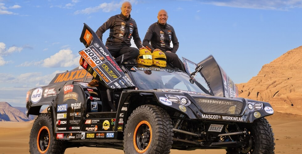 2020 - Tim Coronel, Tom Coronel, The Beast 3.0, Dakar 2020