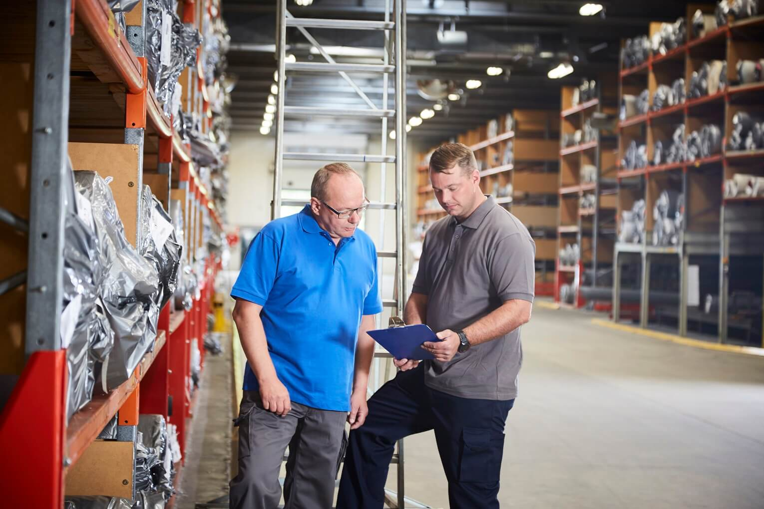 Warehouse workers - Poloshirts - Mannen